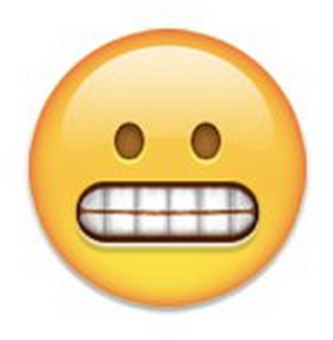 What Does a Grimace or Grit Teeth Emoji Mean on Snapchat Best Friends
