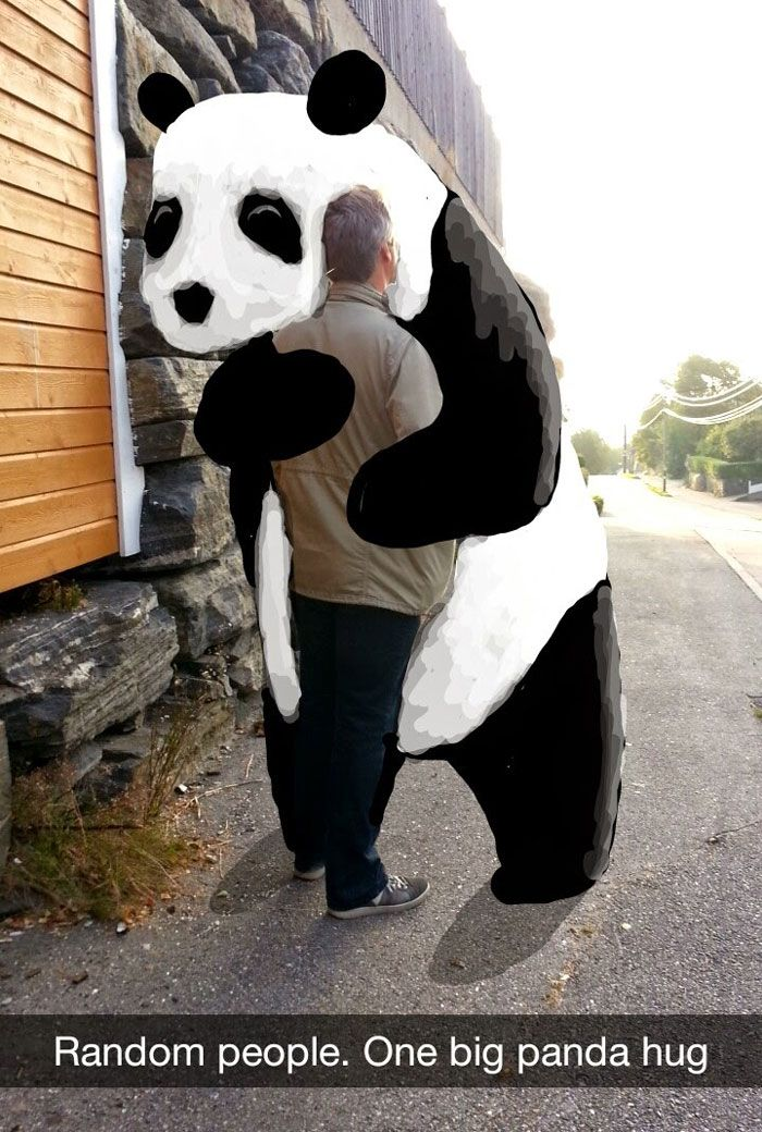 best snapchat drawing geeohsnap panda