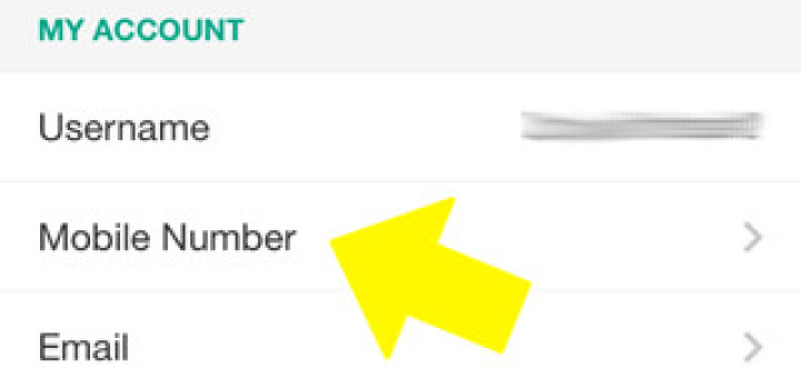 how to change phone number on snapchat