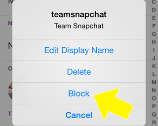 Can someone see your snapchat story if you block them