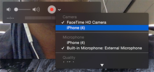 How to Save Snapchat Video for iPhone and iOS using quicktime player