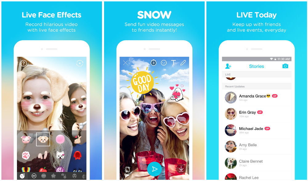3 Snapchat Like Apps With Selfie Filters For Android And