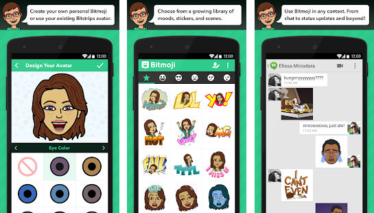 bitmoji windows phone